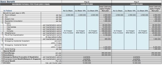 tabel-manfaat-smartmed-premier-plan-e-f